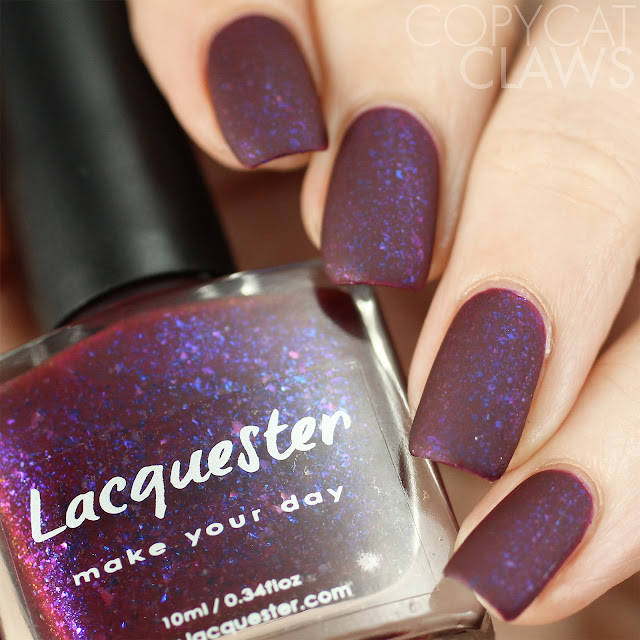 Lacquester 2 Faced Berries Swatch Matte
