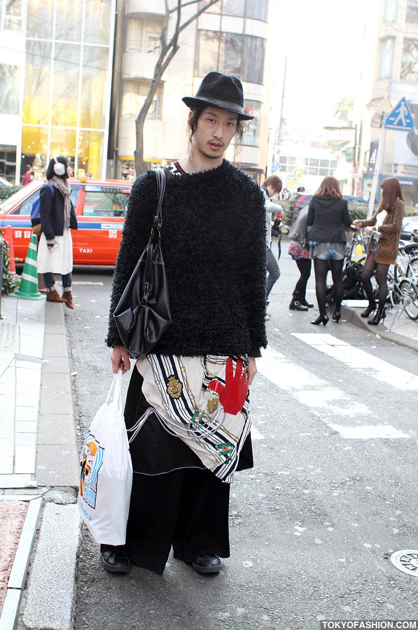 Japanese Street Fashion Trends: Dr Pumpkin: Japanese Teenager's Street Fashion