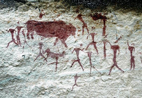 Arte em rocha, África do Sul