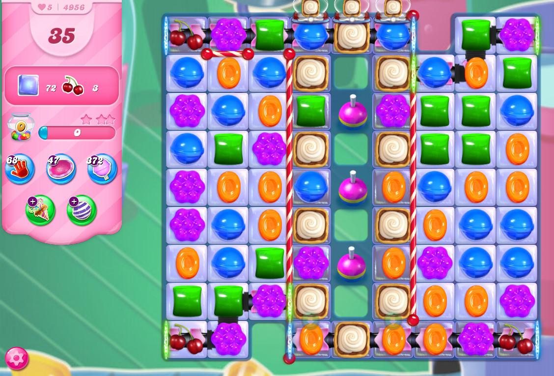 Candy Crush Saga level 4956