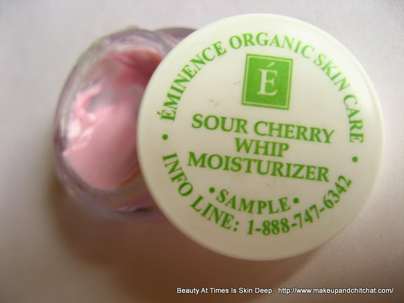 Eminence Organics Sour Cherry Whip Review