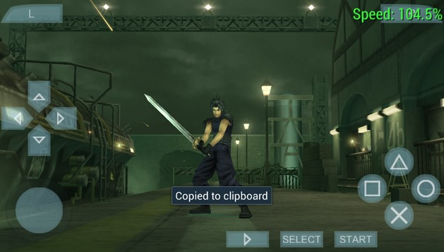 Final Fantasy VII Crisis Core PPSSPP CSO