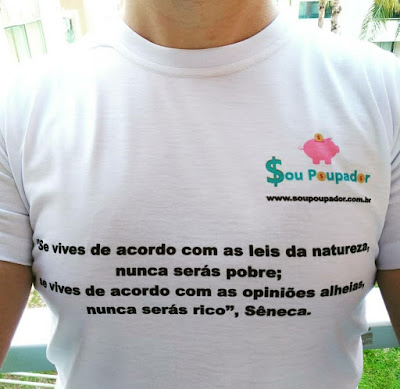 Camiseta do Sou Poupador