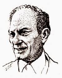 Stanisław Ulam - rys. Antoni Chodorowski