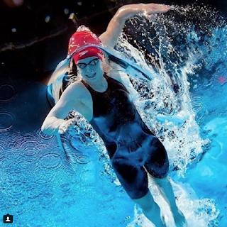 Team USA swimmer Katie Ledecky, PC: @mike2swim