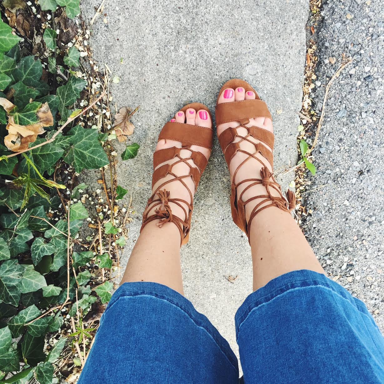 Lace Up Sandals, If the Shoe Fits, Long Tall Sally