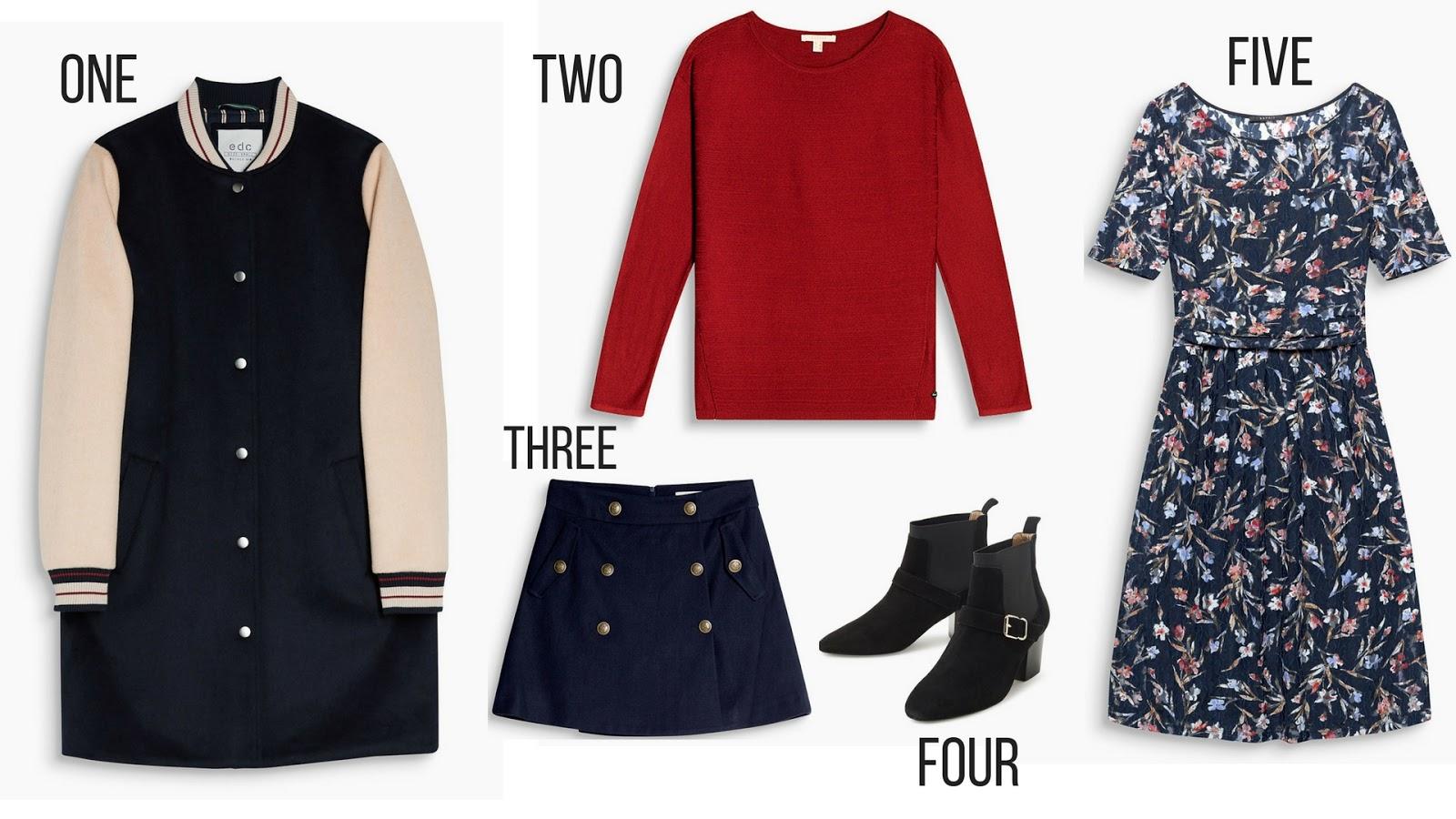 Formidable Joy | UK Fashion, Beauty & Lifestyle Blog | Fashion | Winter fashion wishlist with Esprit | Esprit | Wishlist