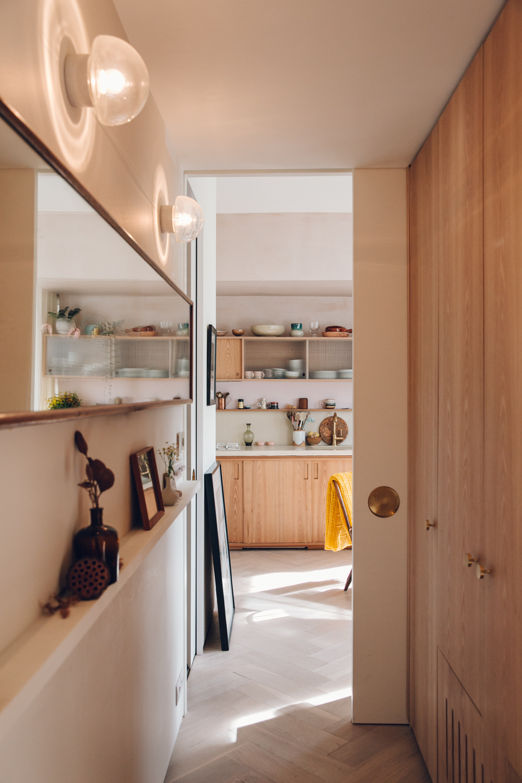 La inteligente y estilosa reforma de un min sculo piso - Reforma piso pequeno ...