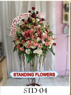 Karangan Bunga Untuk pembukaan
