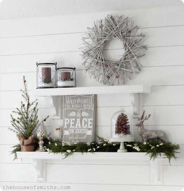 Woodsy Winter Wonderland Christmas Decor 2012
