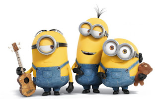 Minions Playing Guitar and Taddy Dance HD Wallpaper Pictures