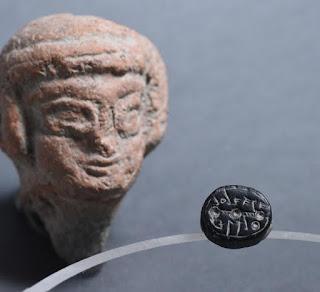 Dois selos hebraicos da época do Primeiro Templo foram descobertos na Cidade de David