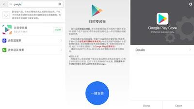 Cara Memasang Google Play Di Ponsel Xiami China / Non Global