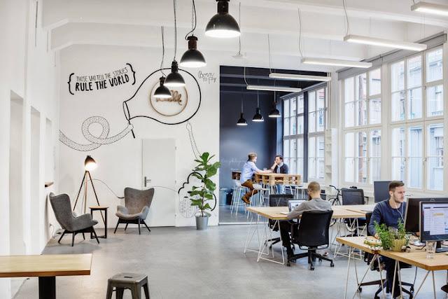 Bố trí ánh sáng văn phòng tạo nguồn cảm hứng làm việc