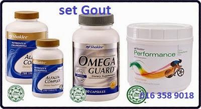 supplemen untuk gout