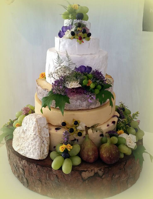 Wedding Cake Made Of Cheese Liverpool