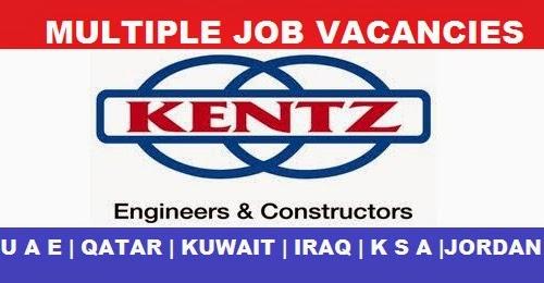 KENTZ ENGINEERS AND CONSTRUCTORS COMPANY JOB VACANCIES | U A E