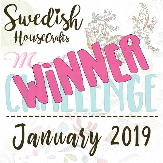 Winner of the January Facebook challenge - new theme for February