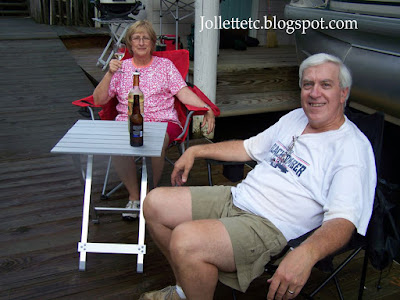 Wendy and Barry at Smith Mountain Lake https://jollettetc.blogspot.com