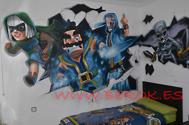 Graffitis Clash Royale
