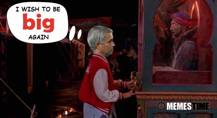 Memes Time… da bola que rola e faz rir - José Mourinho on Europa League: Manchester United 1 – 0 Zorya Luhansk - I Wish to be BIG Again