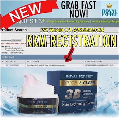 Royal Expert White Cream 3b Lightening Cream