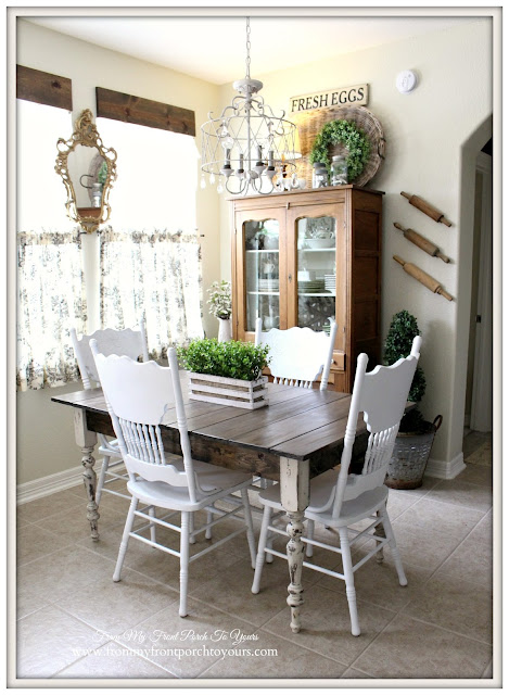 Makeover-Farmhouse-Kitchen-Breakfast-Nook-Farmhouse-Table-From My Front Porch To Yours