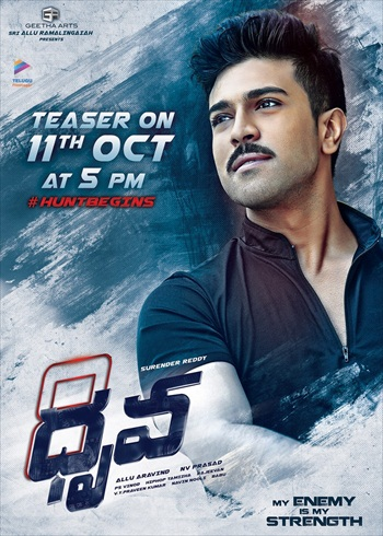 Dhruva 2016 UNCUT Dual Audio Hindi 480p HDRip 450MB