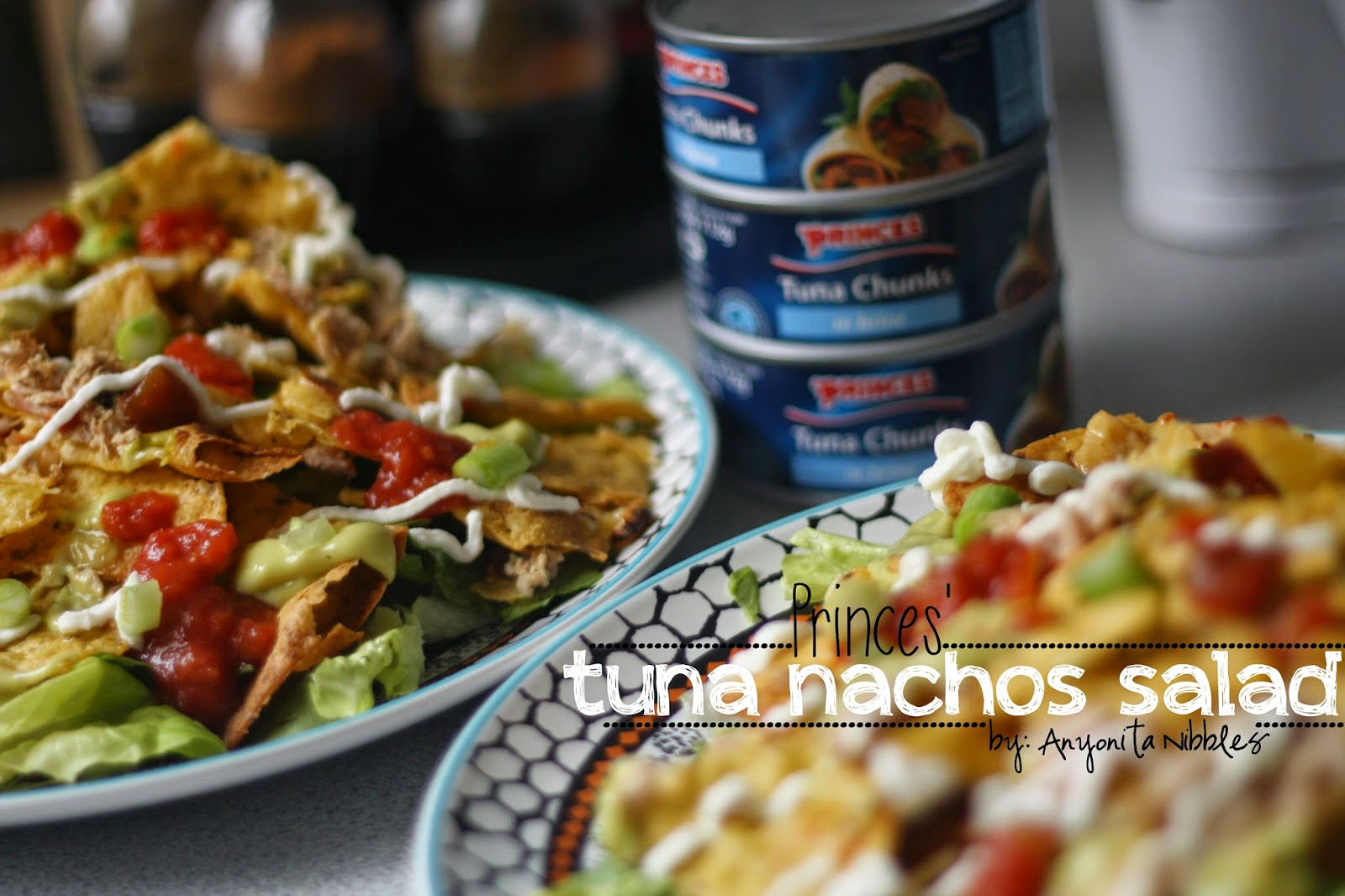 20 minute meal Princes Tuna Nacho Salad from Anyonita-nibbles.co.uk