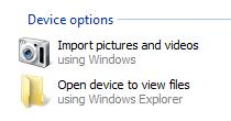 Import photo images from ipad to windows
