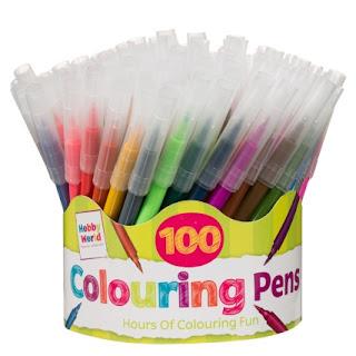 Pot of pens