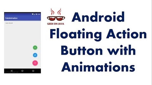 Geek On Java: Android Floating Action Button Example