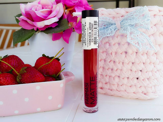 farmasi matte liqud lipstick 06