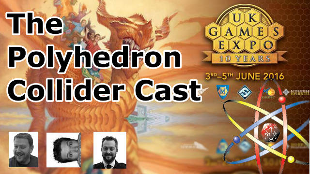 Polyhedron Collider Cast Episode 5: Eclipse, Galaxy Trucker, Blood & Fortune, Aya and Ominoes