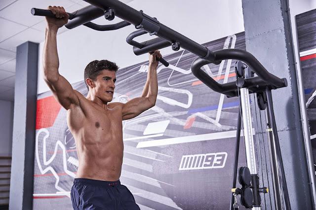 Intip Latihan Marc Marquez Demi Persiapan MotoGP 2018