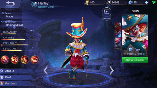 Hero Mobile Legeds yang sering di Banned Pemainya saat Main Ranked Macth