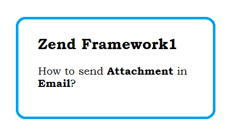 How to send Attachment in Email in zend framework1 - Send PDF File