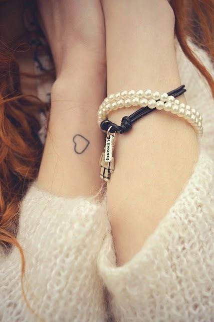 Tatuajes De Corazoncitos Muy Femeninos Belagoria La Web De Los