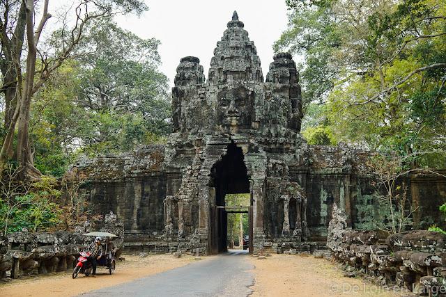 Porte de la Victoire - Angkor - Cambodge