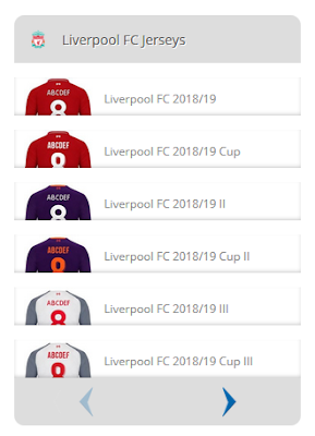 Jersey Home Liverpool 2018-2019