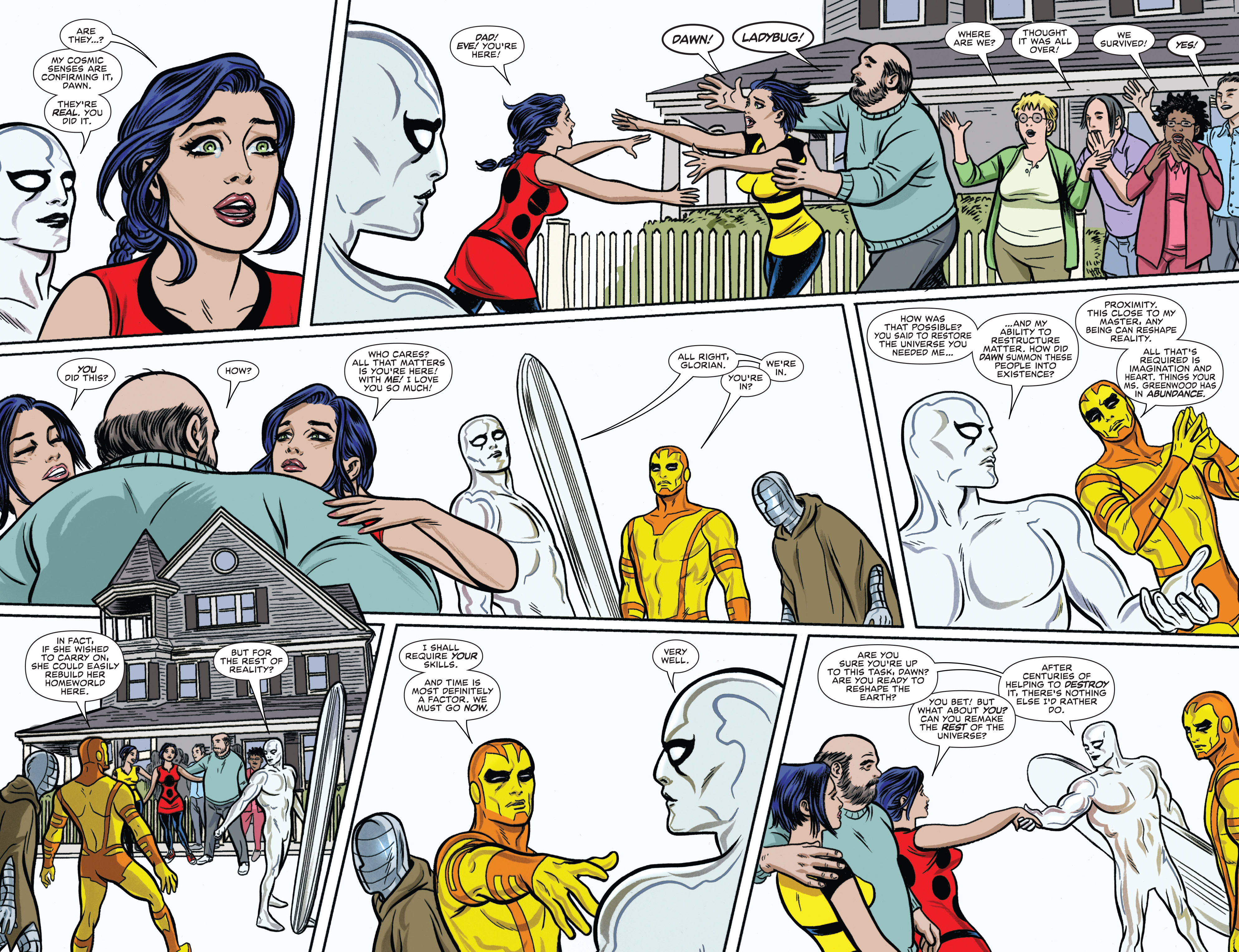 Read online Silver Surfer (2014) comic -  Issue #14 - 5