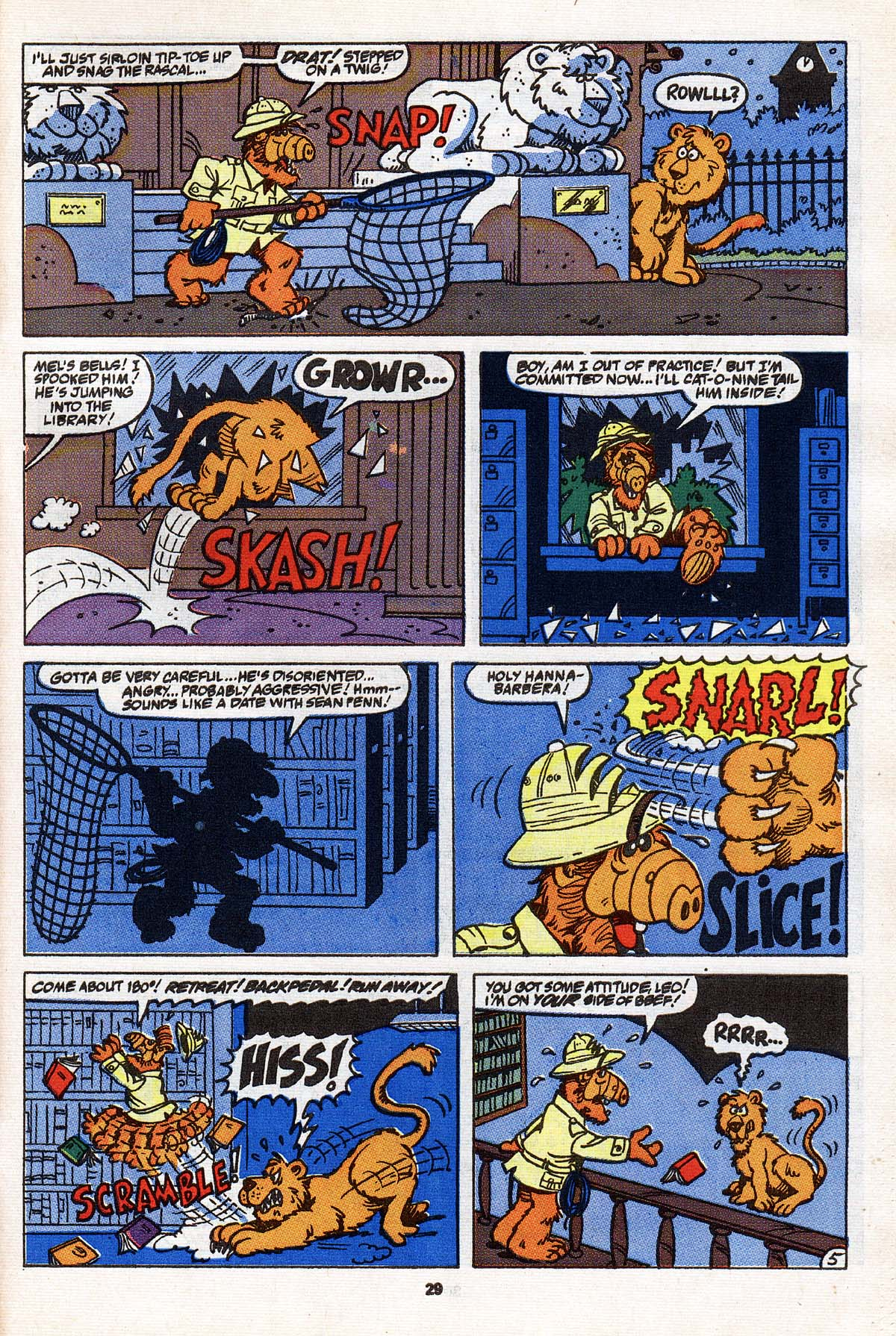 Read online ALF comic -  Issue #31 - 23