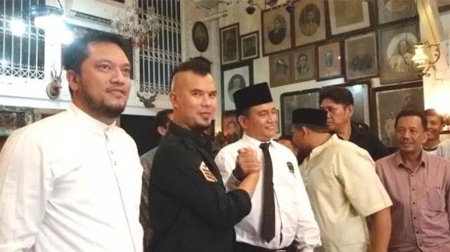 Ahmad Dhani Klaim Banyak Didukung Teman TNI dan Polri