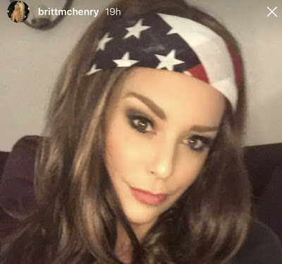 Krusty Sox Sports: Britt McHenry Patriotic AF For Halloween and ...