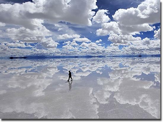 Imagens tão absurdas que parecem mentira - Andando nas nuvens