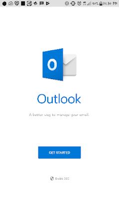 Cara setting email kantor di HP