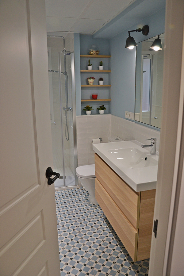Una reforma excelente para el baño