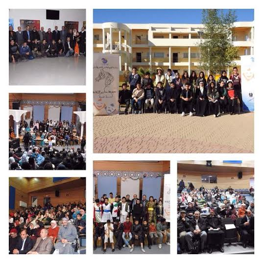 مجموعة مدارس الإقامة بخريبكة تحتفل باليوم العالمي للشعر والمسرح