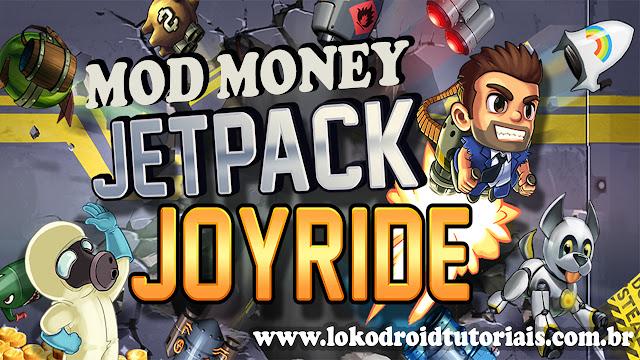 Jetpack Joyride, e na versão MOD dinheiro infinito
