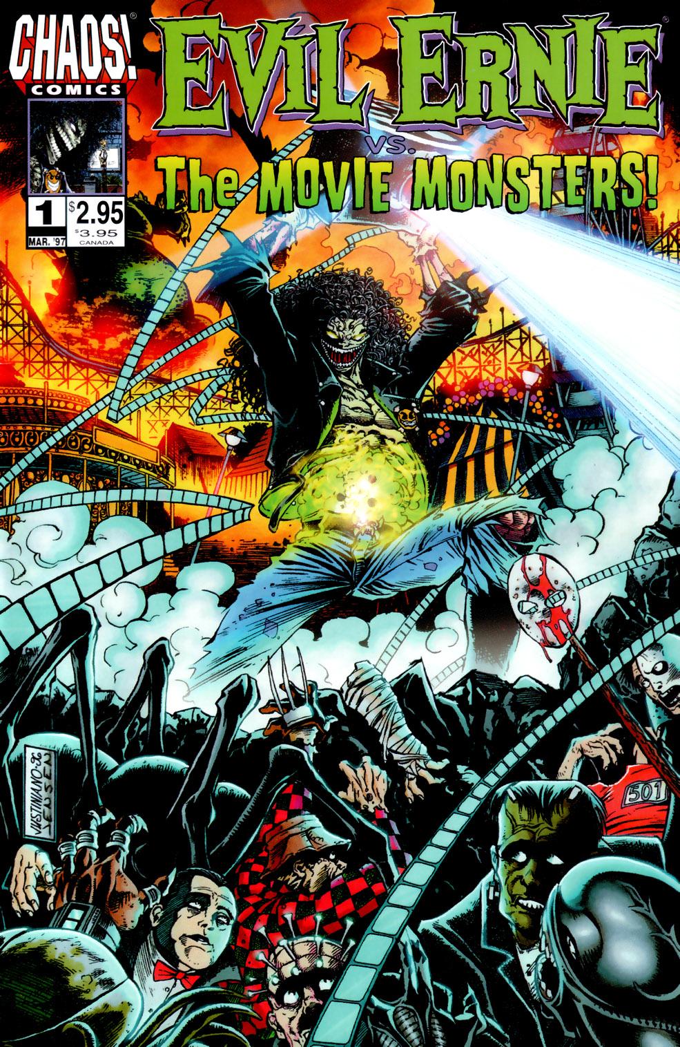 Evil Ernie vs. the Movie Monsters Full Page 1